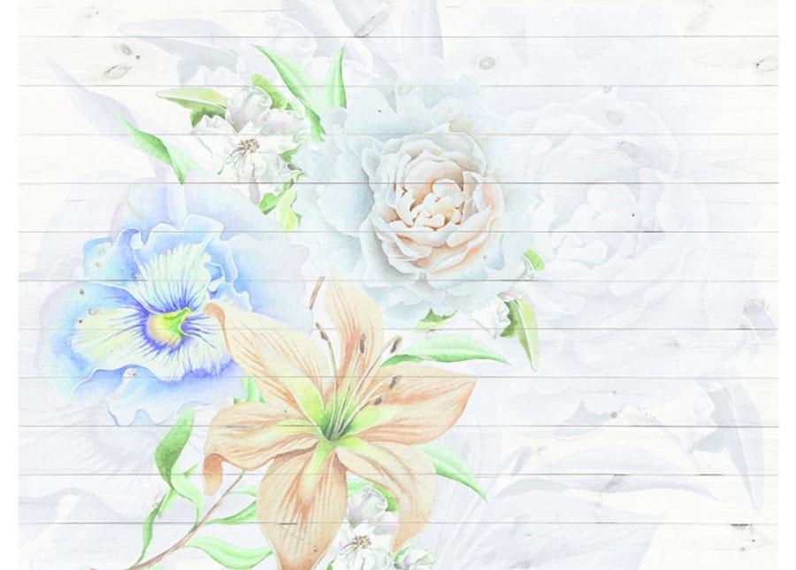Fleece-kuvatapetti FLOWERS 360x270 cm