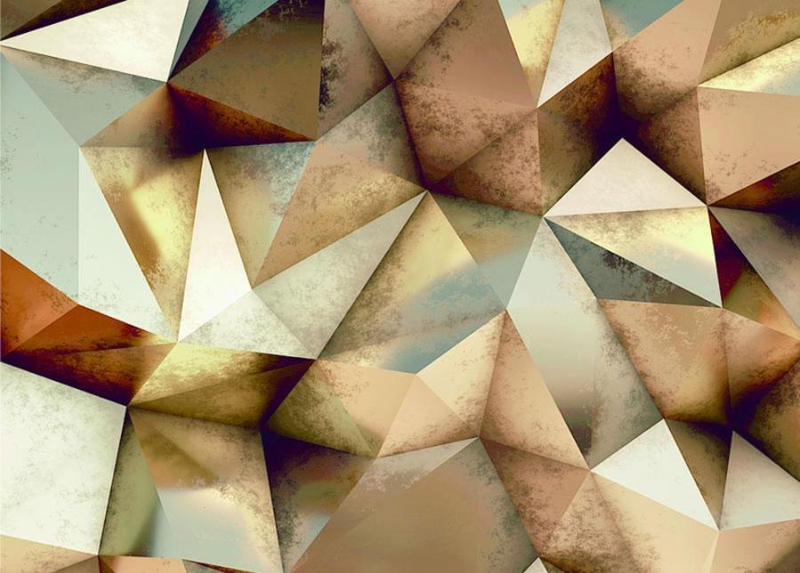 Fleece-kuvatapetti BRONZE 360x270 cm