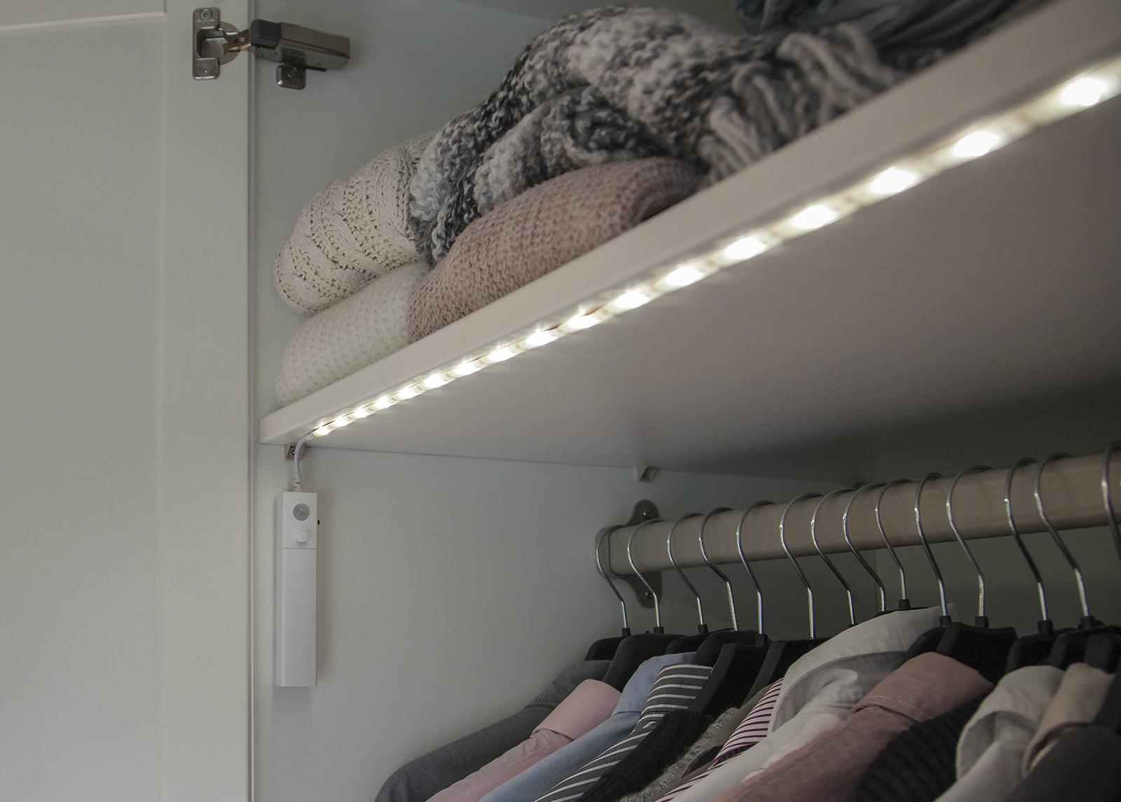 LED valoketju sensorilla / yövalaisin