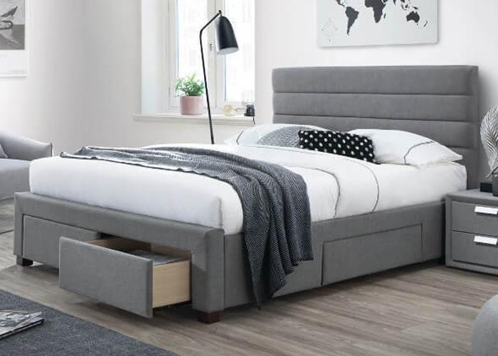 Sänky vuodevaatelaatikolla KAYLEON 140x200 cm