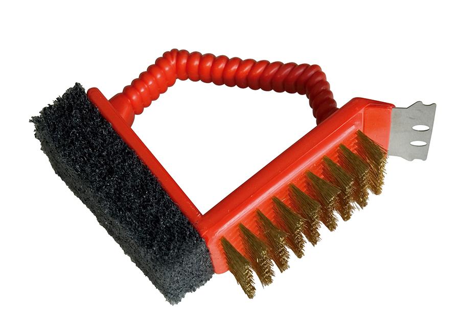 Grillin puhdistusharja BARBECOOK 3in1