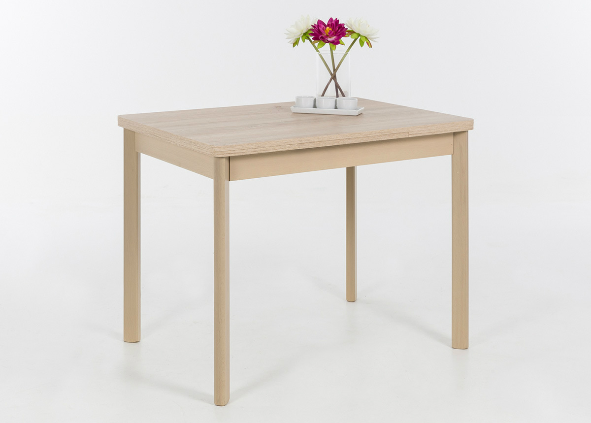Jatkettava ruokapöytä BREMEN II 90-142x65 cm