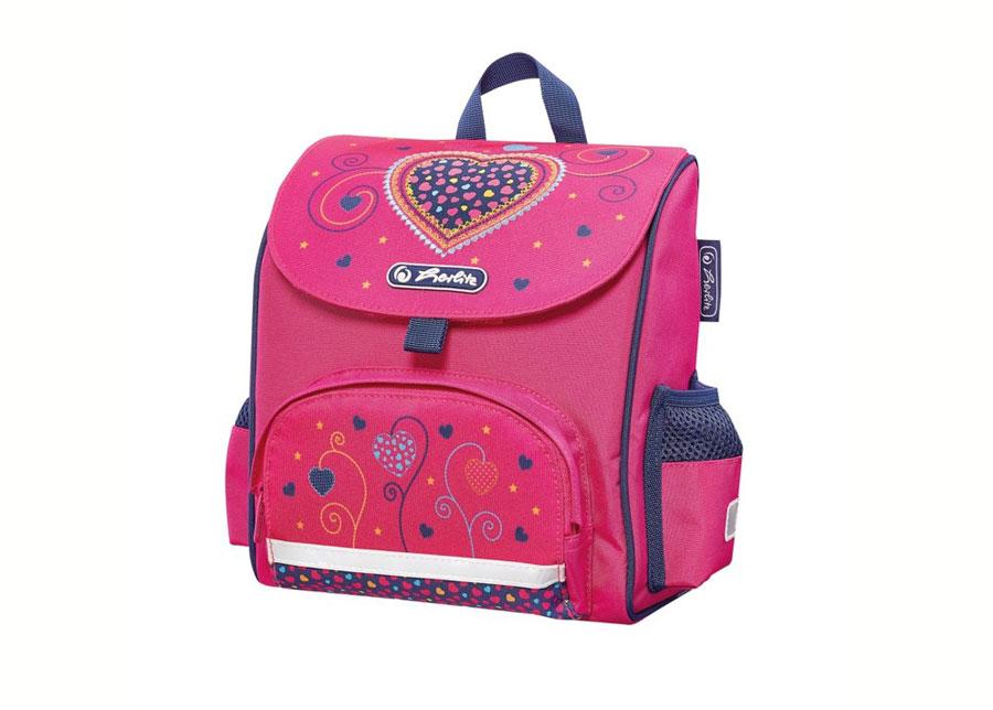 Selkäreppu Herlitz Mini softbag Pink Hearts