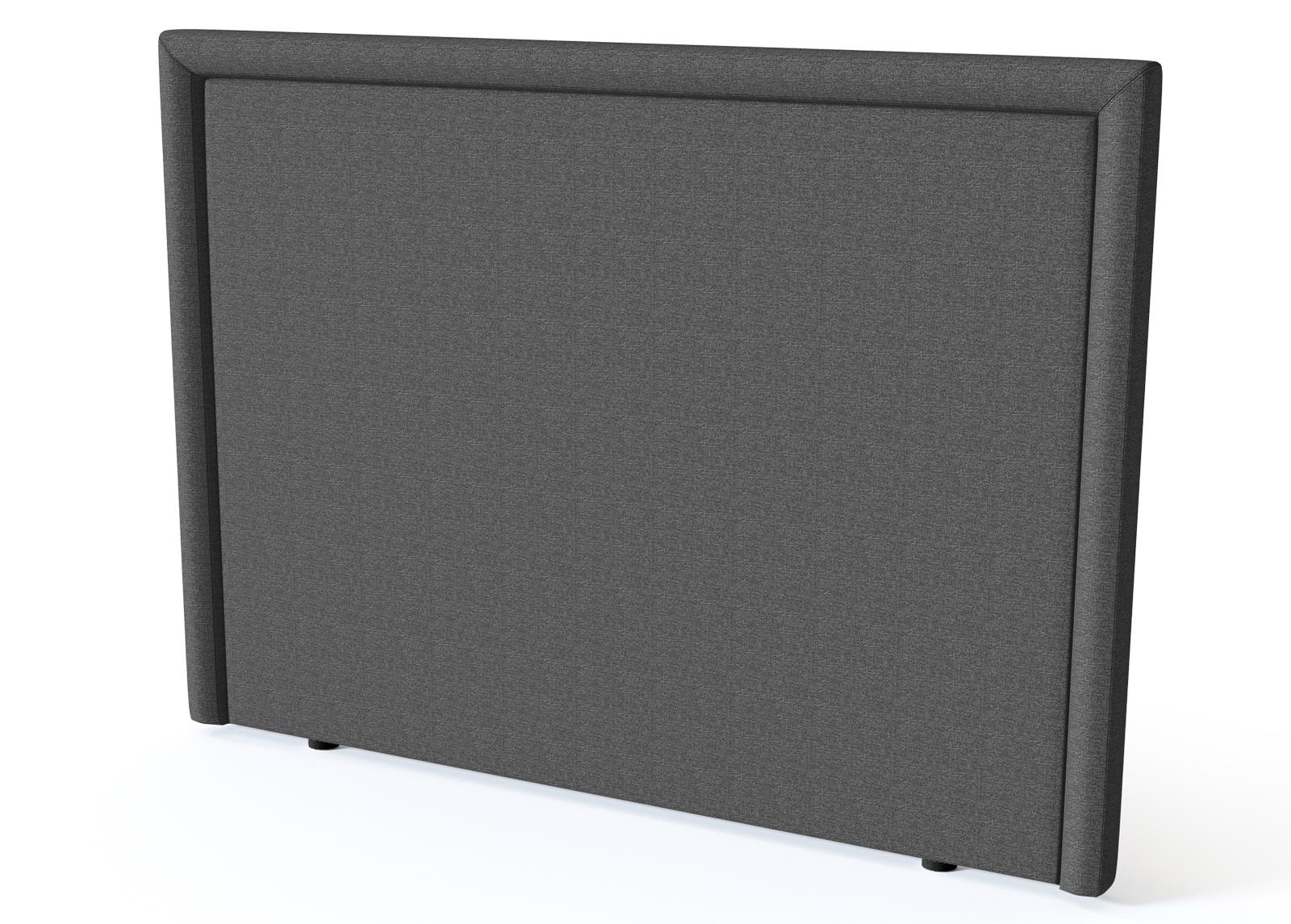 Sleepwell sängynpääty Lined BLACK 180 cm