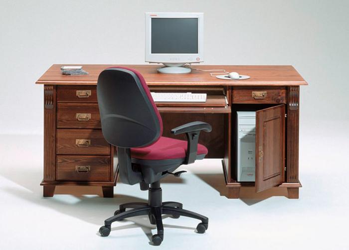 Työpöytä MONACO, mänty