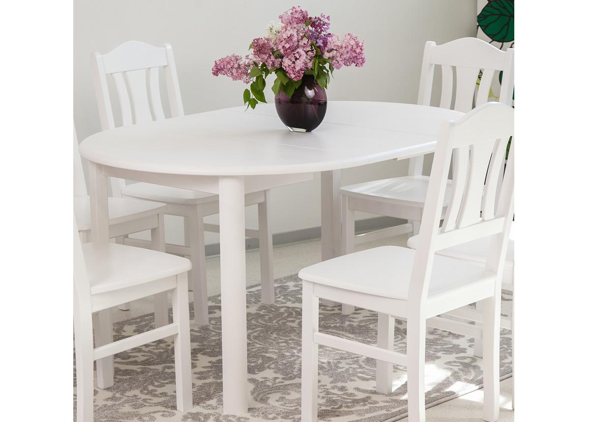 Jatkettava ruokapöytä ADA 100x100-178 cm