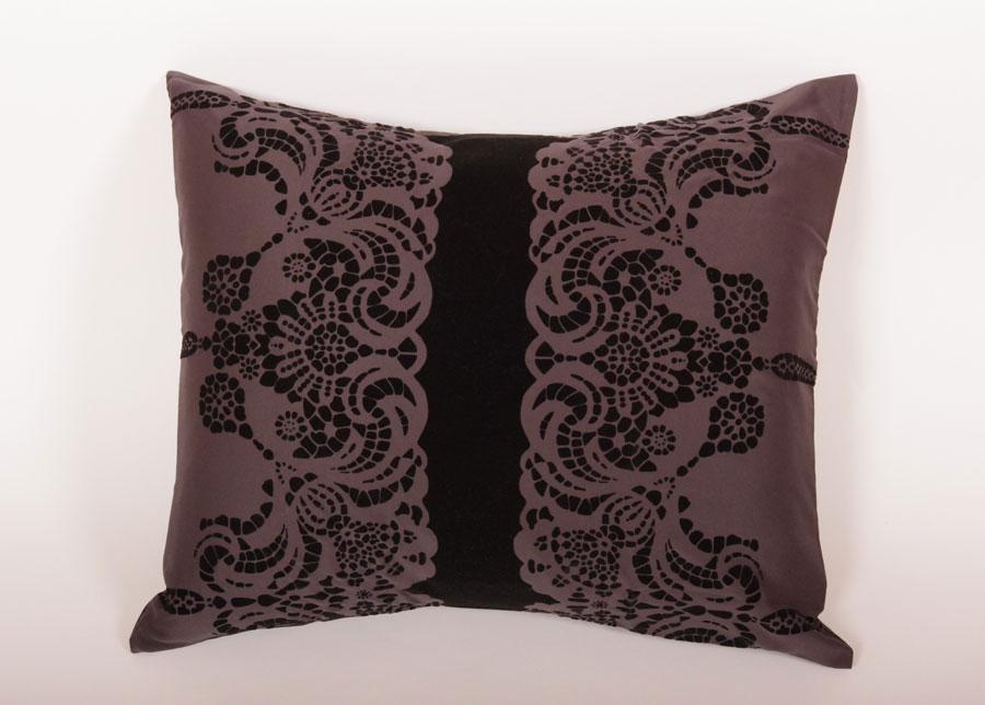 KYLIE MINOGUE tyynyliina ASTORIA BLACK 50x60 cm