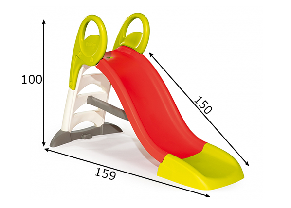 Liukumäki 150 cm