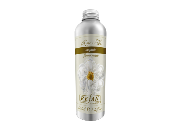 Ruusuvesi ORGANIC ROSA ALBA 125 ml