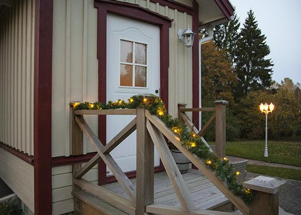 Seppele Alaska LED valoilla 270 cm