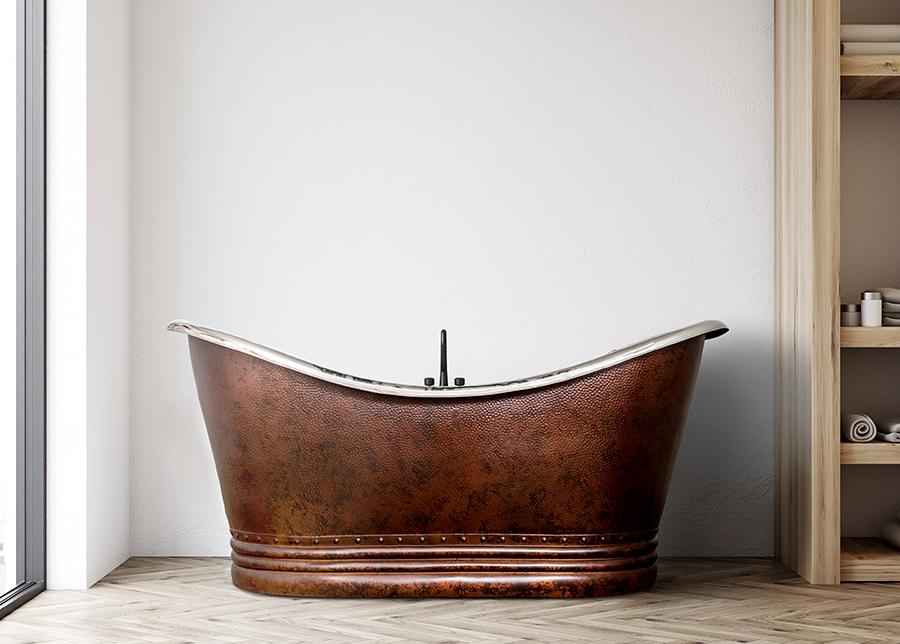 Kuparinen kylpyamme BATEAU
