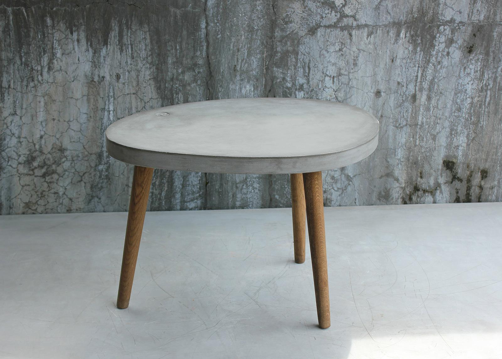 Sohvapöytä TOM TAILOR CEMENT 75x52 cm