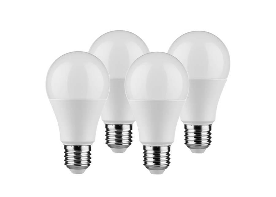LED lamppu E27 5,5 W 4 kpl