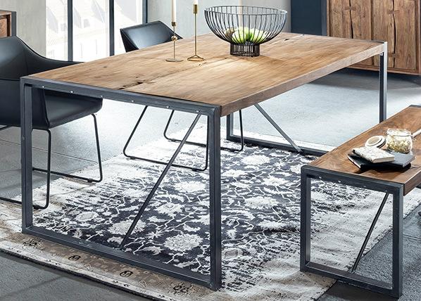 Ruokapöytä LIVE EDGE 160x90 cm