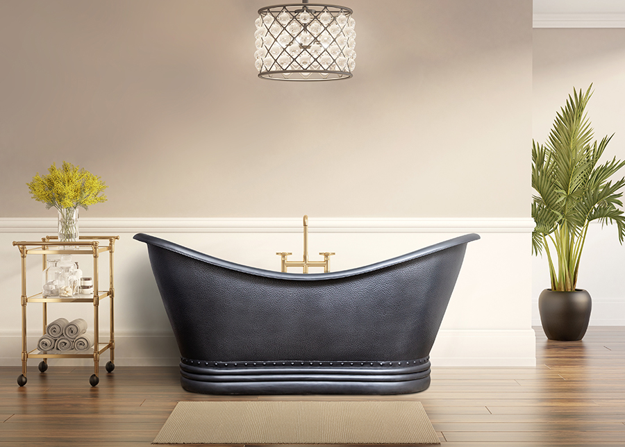 Kuparinen kylpyamme CARAVELT