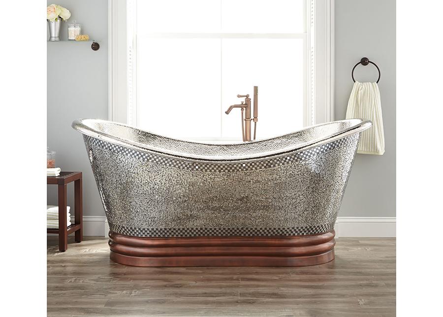Kuparinen kylpyamme MOSAIC