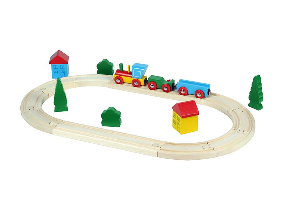 Puinen junarata