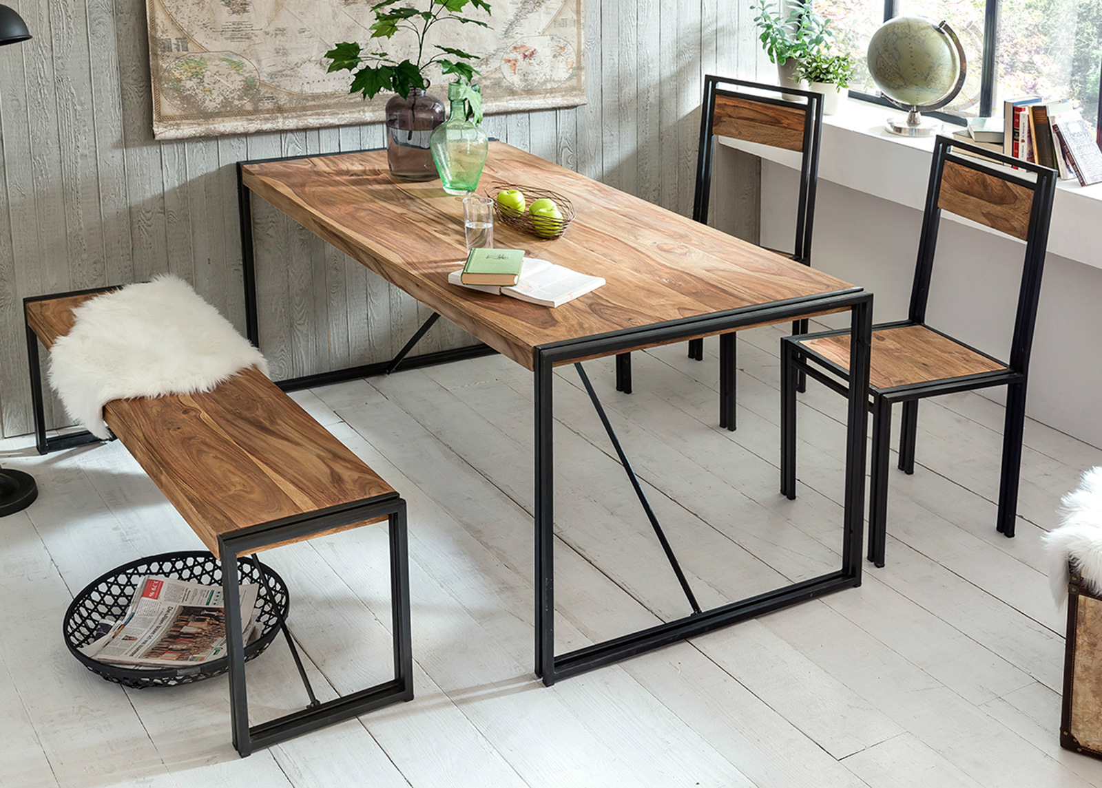 Ruokapöytä Panama 180x90 cm