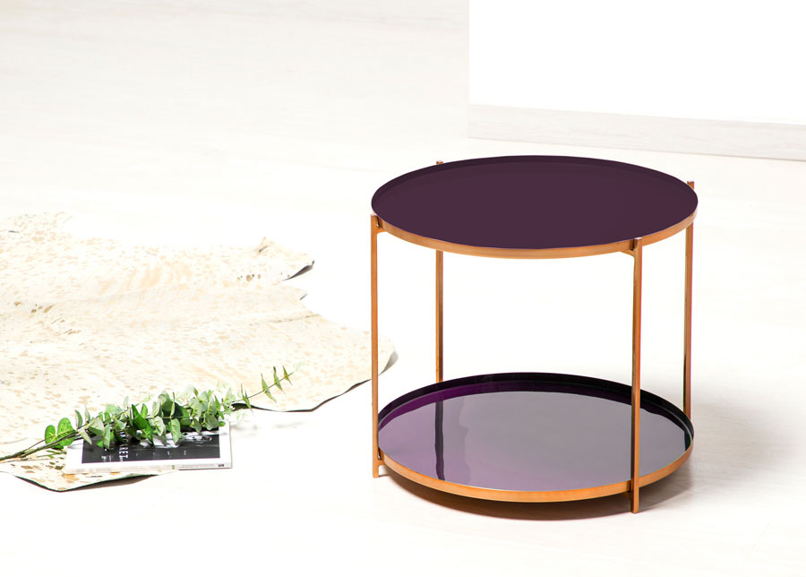 Apupöytä Ø 57 cm