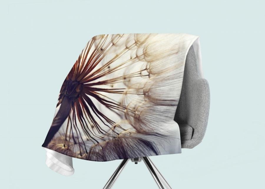 Torkkupeitto Amazing Dandelion 130x150 cm