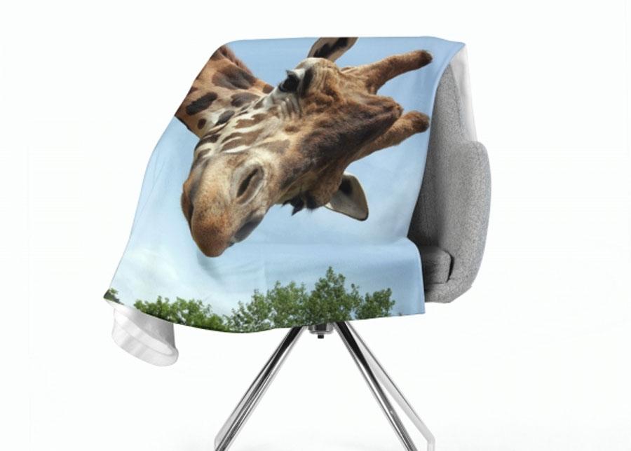 Torkkupeitto Giraffe 130x150 cm