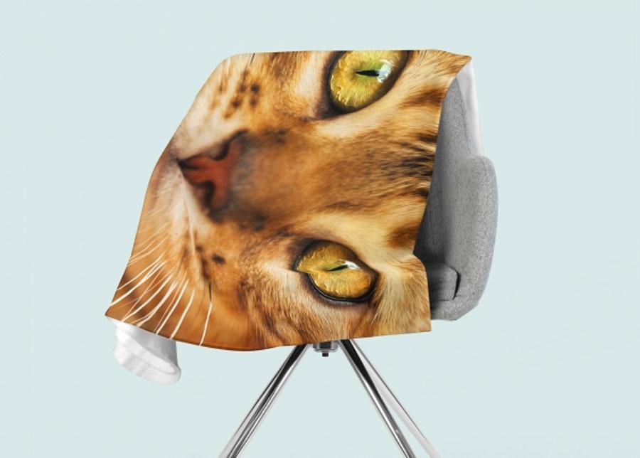 Torkkupeitto Red Cat 130x150 cm