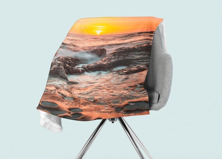Torkkupeitto Summer Sunrise in Australia 130x150 cm