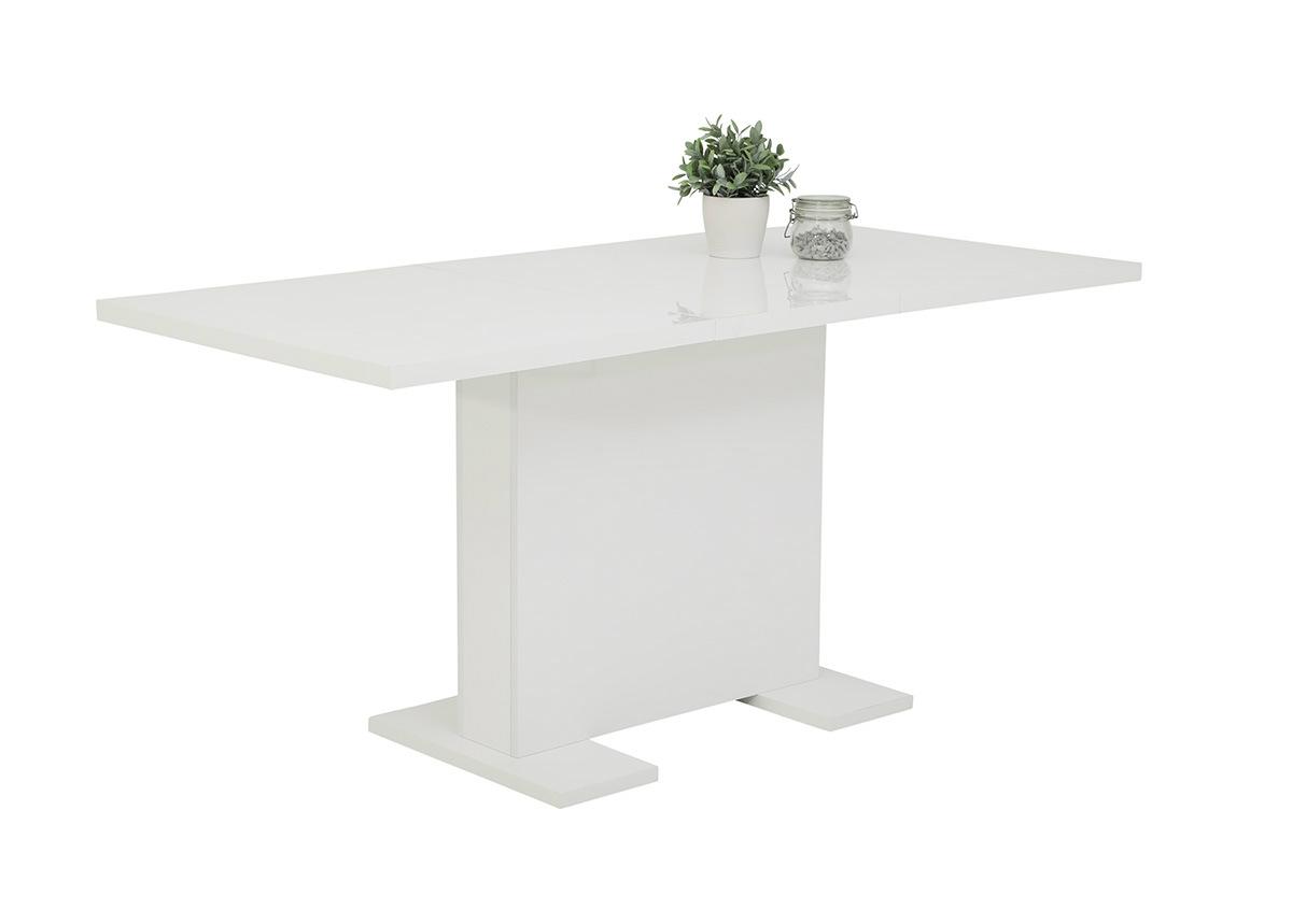 Jatkettava ruokapöytä Wiebke 80x120/160 cm