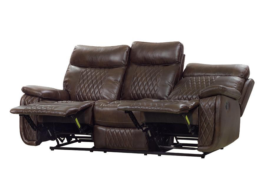 3-istuttava sohva Relax23, tummanruskea