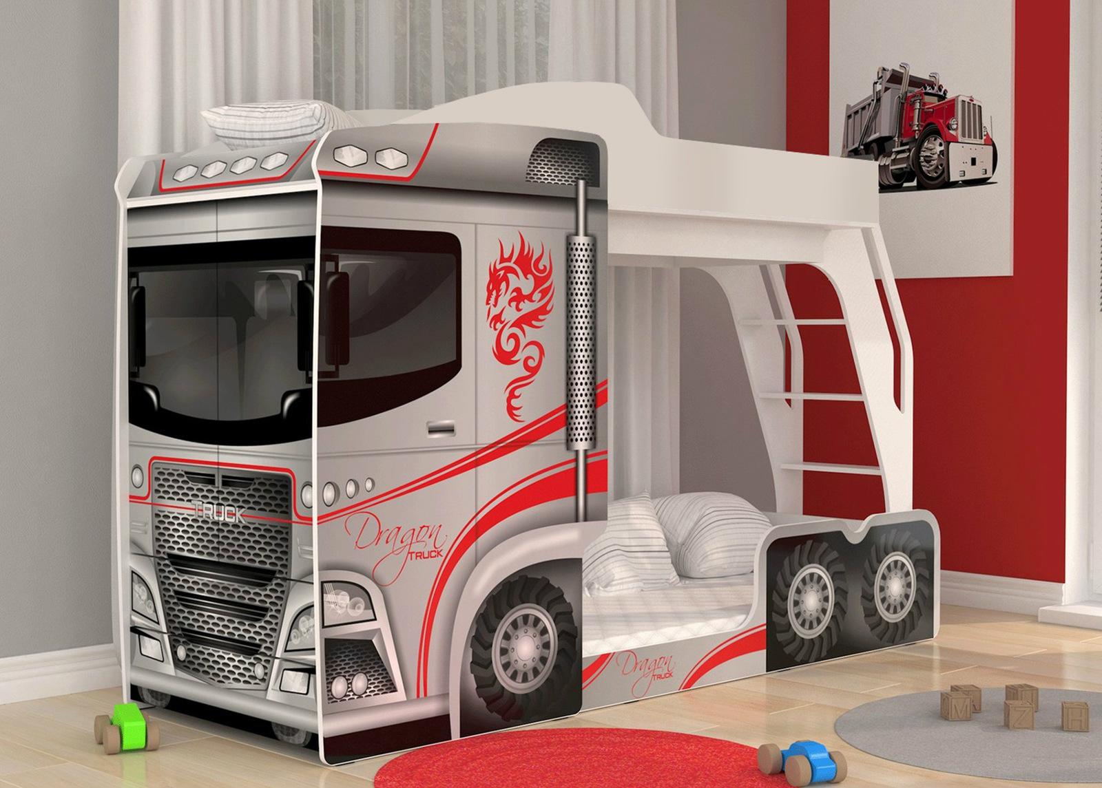 Kerrossänky Mega Truck 80x190 cm