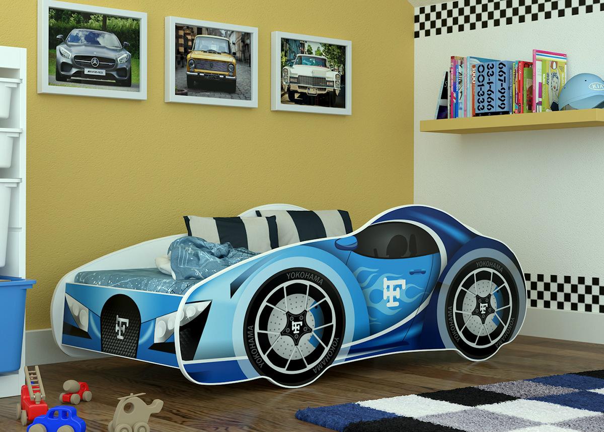 Lastensänky Bugatti 70x140 cm