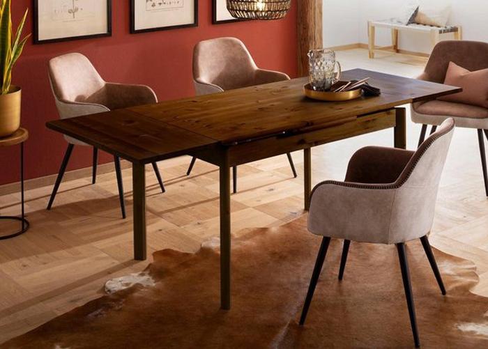 Jatkettava ruokapöytä Tirza 120-200 cm