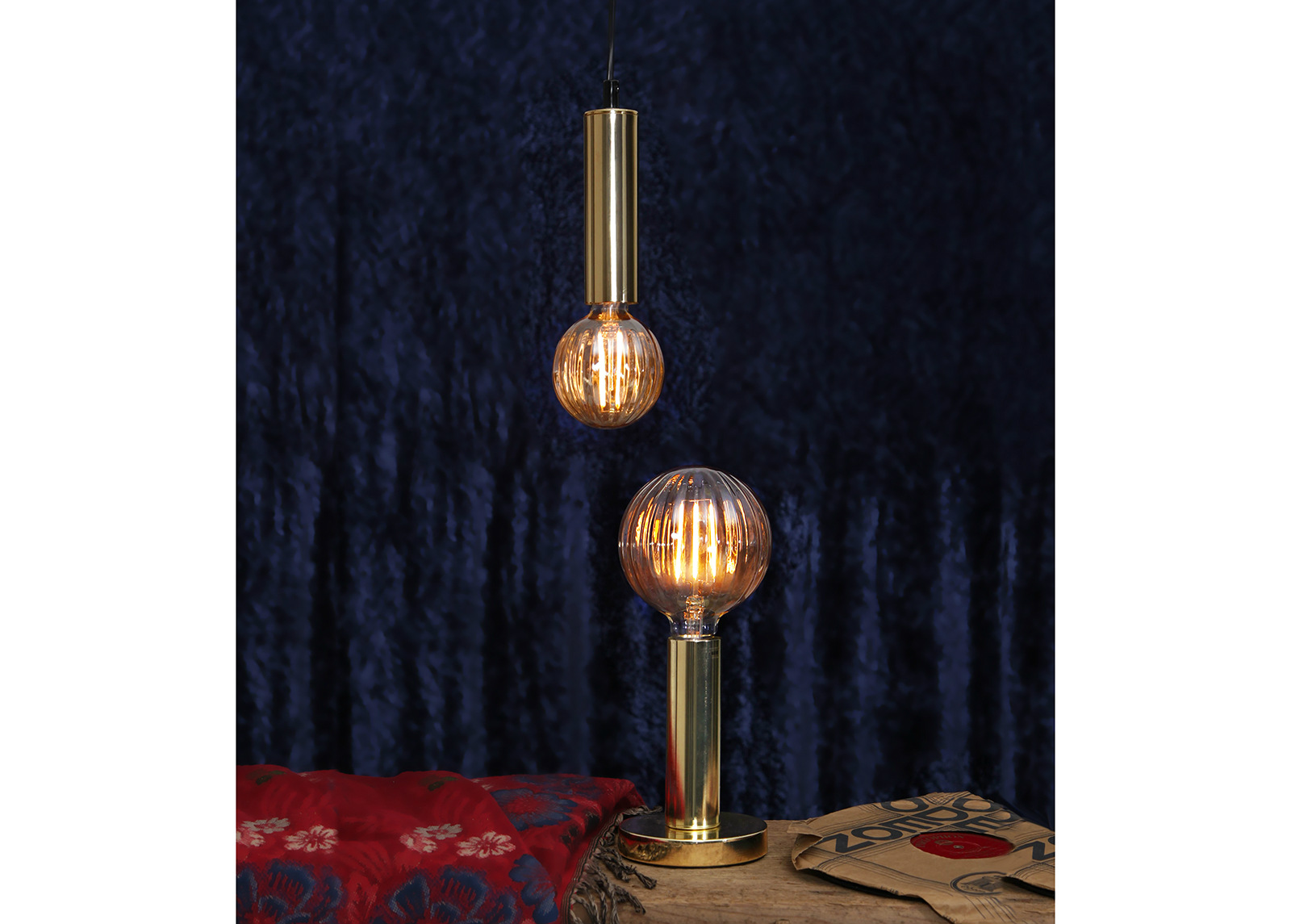 Dekoratiivi LED lamppu E27 2,5 W