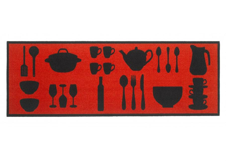 Keittiömatto Cook & Wash Red