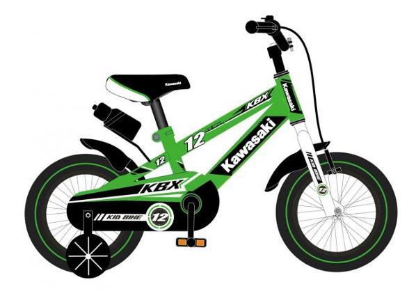 Lasten polkupyörä Kawasaki 12 tuumaa