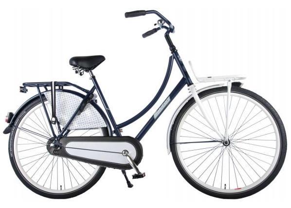 Naisten kaupunkipyörä SALUTONI Dutch oma bicycle Glamour 28 tuumaa 50 cm