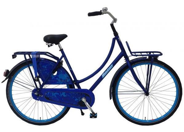 Naisten kaupunkipyörä SALUTONI Jeans 28 tuumaa 50 cm