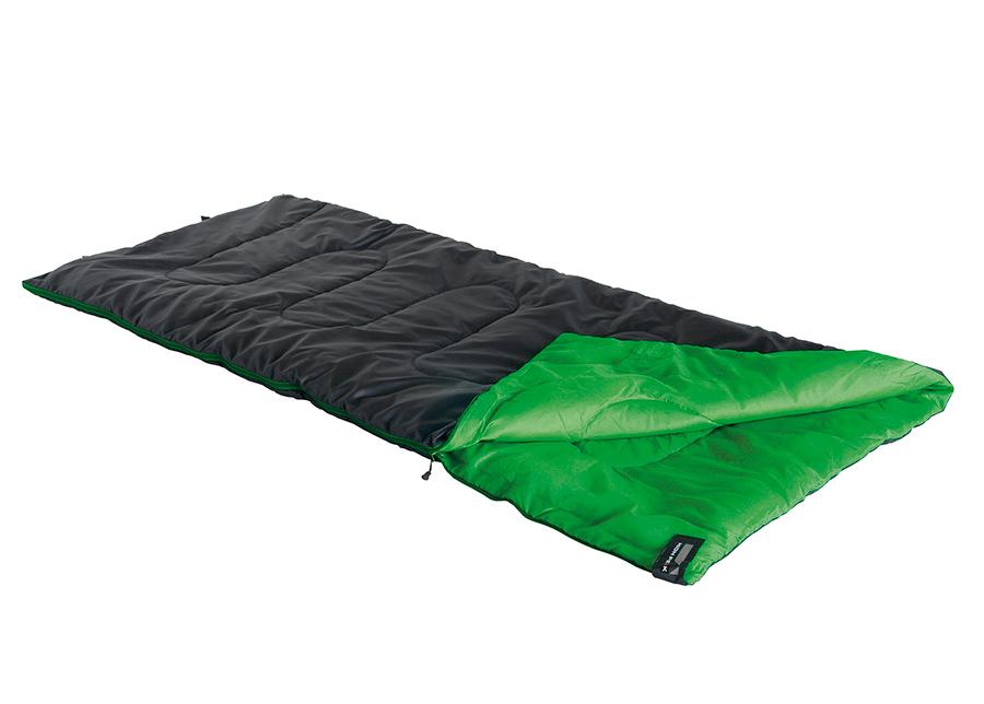 Makuupussi High Peak Patrol, musta/vihreä