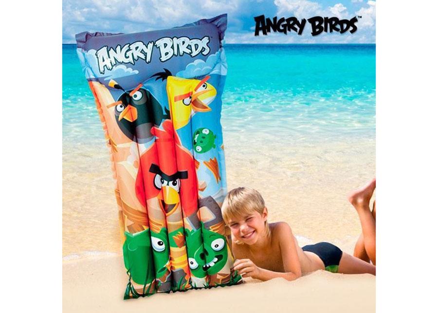 Puhallettava uimapatja Angry Birds 61x119 cm