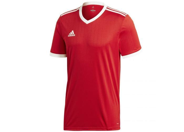 Miesten vapaa-ajanpaita Adidas Tabela 18 Jersey punainen M