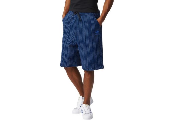 Miesten shortsit Adidas Originals NYC AOP