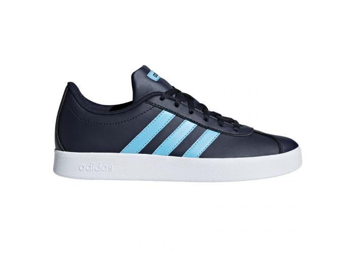 Lasten vapaa-ajan kengät Adidas VL Court 2.0 K Jr