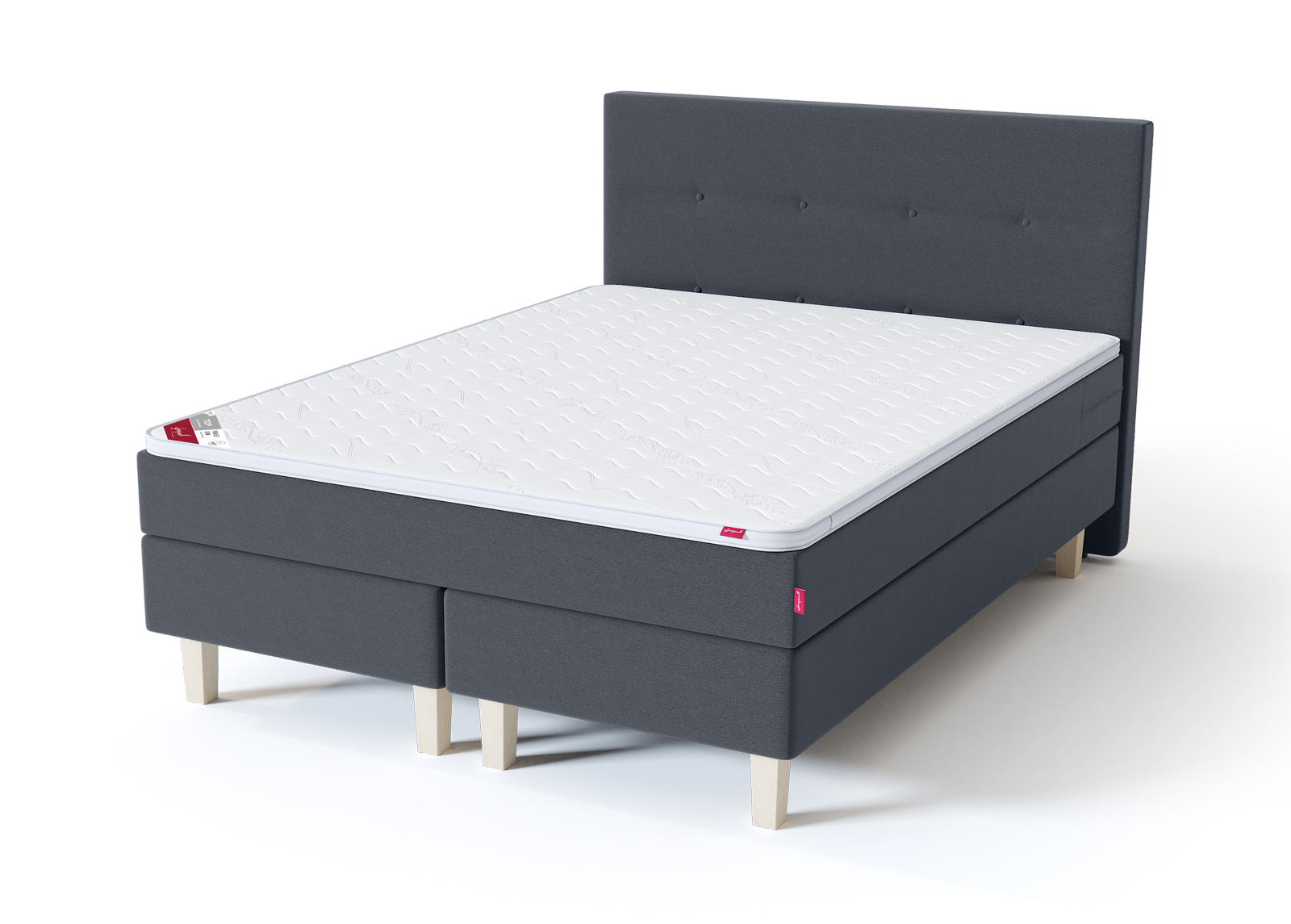 Sänkysarja Sleepwell Blue Continental 160x200 cm