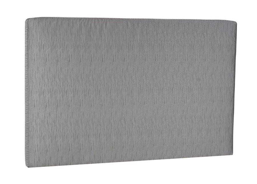 Kangasverhoiltu Hypnos sängynpääty Slim 140x105x6 cm