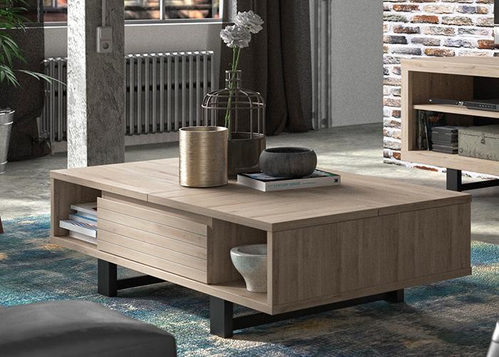 Sohvapöytä Clay 120x70 cm