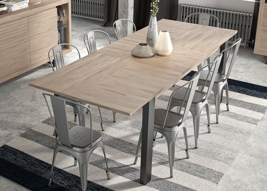 Jatkettava ruokapöytä Clay 180/237x90 cm