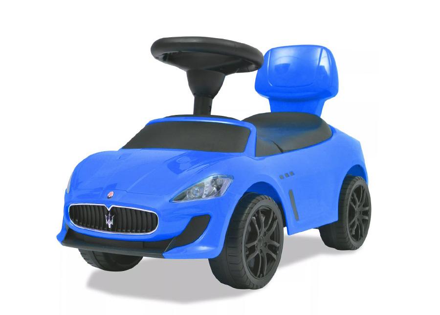 Potkuauto Maserati sininen