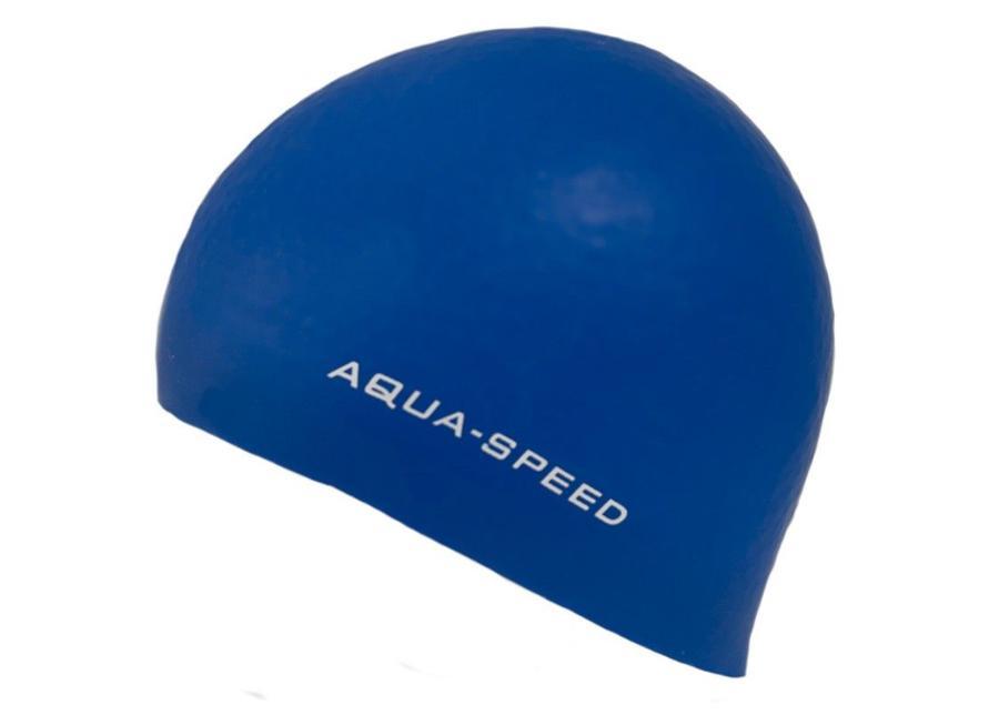 Aikuisten uimalakki Aqua-Speed Silikoni 3D Cap 1