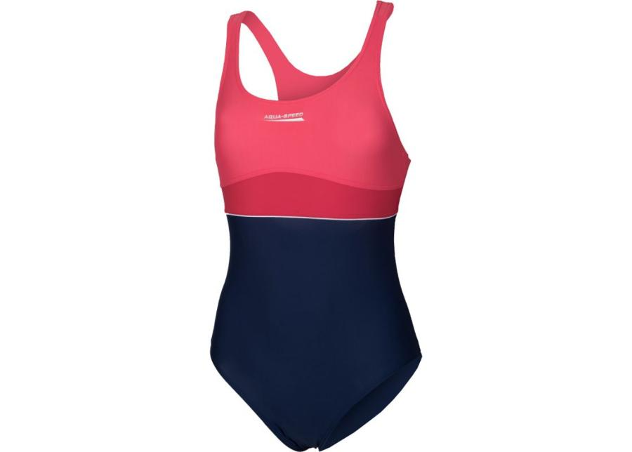 Lasten uimapuku Aqua-Speed EMILY Junior tummansininen-roosa