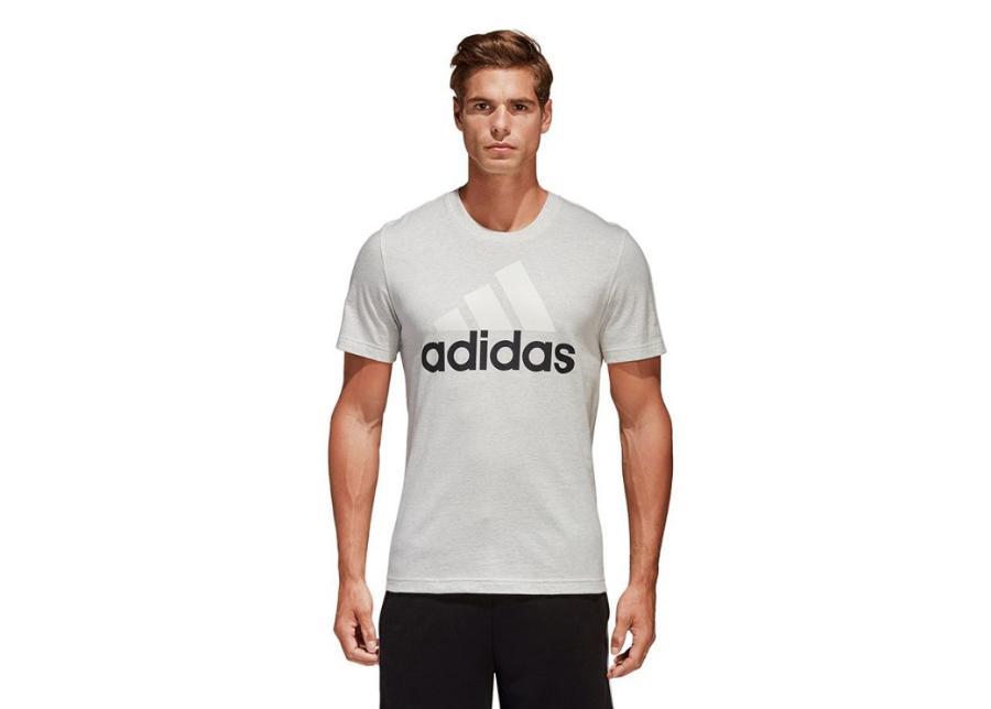 Miesten vapaa-ajanpaita Adidas Essentials Linear Tee M B47357